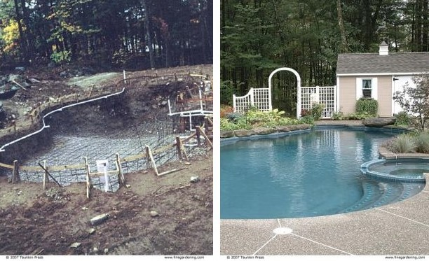 Fitting a Pool Into Your Landscape