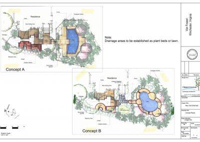Van Fossen Concept pLans on Titleblock