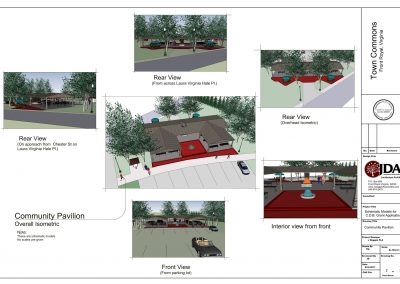 Front Royal- Town Commons Schematic Model sht 2 of 2
