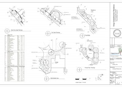 1b.Kreig-Vanderbloemen Planting Plan sht 2 of 3