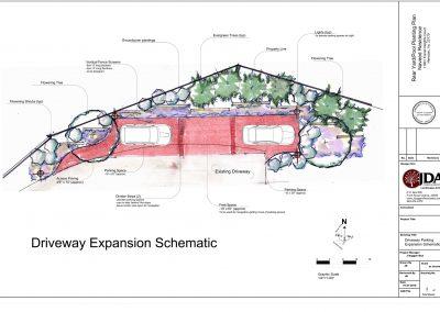 Kahn  Concept Design  sht 2 of 4 Driveway Extension 1-27-17