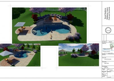 3. Novak Residence FInal Design as presented to client sht 1 of 4-model