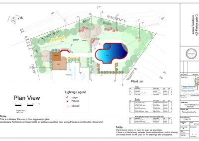 Aikens final PLan sht 3- Planting and Lighting Plan 11-20-15