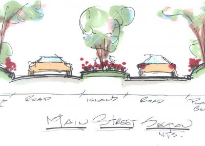 5. North River Sq Entry Sign Sketch12 18 06-A