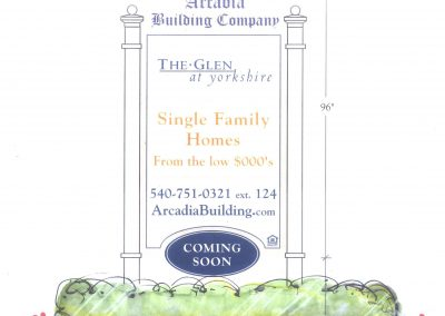 9. Southern Hills Sales Sign